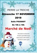 Marché de Noël à Pierre-la-Treiche 54200 Pierre-la-Treiche du 17-11-2019 à 10:00 au 17-11-2019 à 18:00