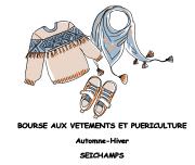 Bourse aux vêtements et puériculture à Seichamps 54280 Seichamps du 27-09-2019 à 09:30 au 28-09-2019 à 18:30