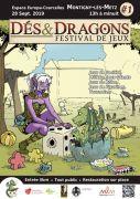 Festival de jeux Dés & Dragons à Montigny-lès-Metz 57950 Montigny-lès-Metz du 28-09-2019 à 13:00 au 28-09-2019 à 23:59