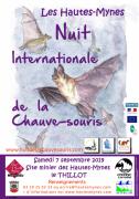 Nuit de la Chauve-Souris aux Hautes-Mynes du Thillot 88160 Le Thillot du 07-09-2019 à 19:00 au 07-09-2019 à 22:00