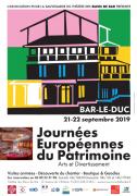 Journées du Patrimoine Théâtre des Bleus de Bar à Bar le Buc 55000 Bar-le-Duc du 21-09-2019 à 14:00 au 22-09-2019 à 17:30