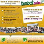 Salon d'Automne à Dombasle-sur-Meurthe 54110 Dombasle-sur-Meurthe du 13-10-2019 à 07:00 au 13-10-2019 à 18:00