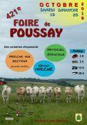 Foire de Poussay 2019 88500 Poussay du 19-10-2019 à 09:00 au 20-10-2019 à 18:00