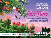 Folie'Flore Mulhouse 2019 Show Floral  Parc Expo de Mulhouse 120, rue Lefebvre 68100 Mulhouse du 03-10-2019 à 17:00 au 13-10-2019 à 20:00