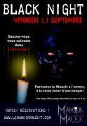 Soirée Black Night au Manoir Maudit Laval-sur-Vologne 88600 Laval-sur-Vologne du 13-09-2019 à 19:30 au 13-09-2019 à 23:59