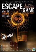 Journées du Patrimoine Escape Game à Rodemack 57570 Rodemack du 21-09-2019 à 10:00 au 22-09-2019 à 18:00