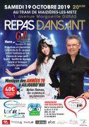 Repas Dansant Anton Roman au Tram Maizières-lès-Metz 57280 Maizières-lès-Metz du 19-10-2019 à 20:30 au 19-10-2019 à 22:00