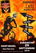 Rando VTT des Têtes Brûlées Saint-Mihiel 55300 Saint-Mihiel du 29-09-2019 à 08:00 au 29-09-2019 à 14:00