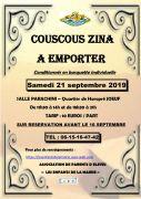 Vente de Couscous Zina à Joeuf 54240 Joeuf du 21-09-2019 à 11:30 au 21-09-2019 à 21:00