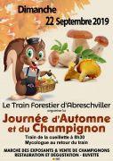 Journée de l'Automne et du Champignon à Abreschviller 57560 Abreschviller du 22-09-2019 à 09:00 au 22-09-2019 à 15:00