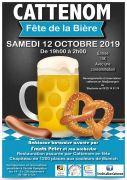Fête de la Bière à Cattenom 57570 Cattenom du 12-10-2019 à 19:00 au 13-10-2019 à 02:00