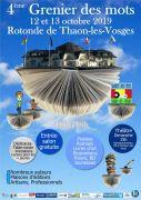 Grenier des Mots à la Rotonde Capavenir Vosges 88150 Thaon-les-Vosges du 12-10-2019 à 10:00 au 13-10-2019 à 18:00