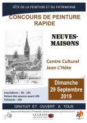 Concours de Peinture Rapide à Neuves-Maisons 54230 Neuves-Maisons du 29-09-2019 à 08:00 au 29-09-2019 à 19:00