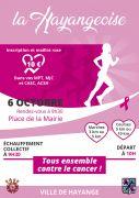 Hayangeoise Course Contre le Cancer à Hayange 57700 Hayange du 06-10-2019 à 09:30 au 06-10-2019 à 11:00