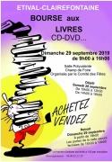 Bourse aux livres à Etival-Clairefontaine 88480 Étival-Clairefontaine du 29-09-2019 à 09:00 au 29-09-2019 à 16:00
