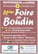 Foire au Boudin à Monthureux-sur-Saône 88410 Monthureux-sur-Saône du 06-10-2019 à 09:00 au 06-10-2019 à 18:00