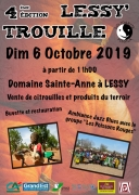 Lessy'Trouille Vente de Citrouilles à Lessy 57160 Lessy du 06-10-2019 à 11:00 au 06-10-2019 à 18:00
