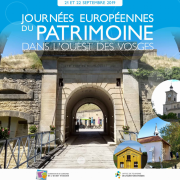 Journées du Patrimoine Neufchâteau et Ouest Vosges 88300 Neufchâteau du 21-09-2019 à 08:00 au 22-09-2019 à 18:00
