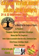 Salon Bien Vivre dans son Corps à Saint-Avold 57500 Saint-Avold du 21-09-2019 à 13:00 au 22-09-2019 à 18:00