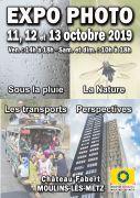 Exposition Photo à Moulins-lès-Metz 57160 Moulins-lès-Metz du 11-10-2019 à 14:00 au 13-10-2019 à 18:00