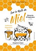 Sur la Route du Miel à Saint-Dié-des-Vosges 88100 Saint-Dié-des-Vosges du 29-09-2019 à 15:00 au 29-09-2019 à 18:00