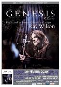 Concert Genesis Classic avec Ray Wilson Saint-Dié-des-Vosges 88100 Saint-Dié-des-Vosges du 29-02-2020 à 20:30 au 29-02-2020 à 23:59