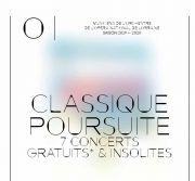 Concert Classique Poursuite Nancy 54000 Nancy du 20-09-2019 à 17:30 au 22-09-2019 à 19:00