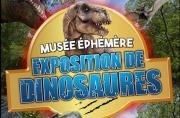 Le Musée Ephémère : Exposition de dinosaures à Metz