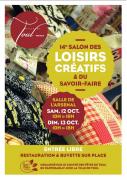 Salon des Loisirs Créatifs et du Savoir-Faire à Toul 54200 Toul du 12-10-2019 à 10:00 au 13-10-2019 à 18:00