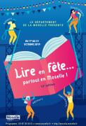 Lire en Fête Partout en Moselle Moselle, Sarreguemines, Bitche, Sarrebourg, Château-Salins, Forbach, Saint-Avold, Metz, Thionville du 01-10-2019 à 08:00 au 31-10-2019 à 16:00