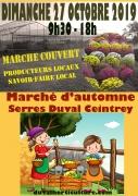 Marché d'Automne aux Serres Duval à Ceintrey