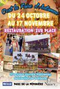 Foire d'Automne à Nancy 54000 Nancy du 24-10-2019 à 13:30 au 17-11-2019 à 19:00