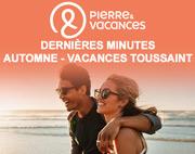 Promo Séjours Automne Pierre et Vacances Antilles, Côte d'Azur, Baie de Somme du 24-09-2019 à 10:00 au 06-11-2019 à 10:00