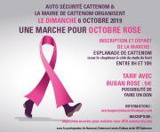 Marche Octobre Rose à Cattenom 57570 Cattenom du 06-10-2019 à 09:00 au 06-10-2019 à 12:00