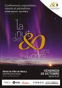 Nuit des 80 Ans du CNRS à Nancy 54000 Nancy du 18-10-2019 à 16:00 au 18-10-2019 à 23:00