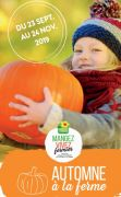 Goûtez l'Automne à la Ferme en Lorraine Meurthe et Moselle, Meuse, Moselle, Vosges du 23-09-2019 à 10:00 au 24-11-2019 à 18:00