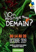On Mange Quoi Demain ? en Meurthe-et-Moselle Meurthe et Moselle du 14-10-2019 à 10:00 au 20-10-2019 à 18:00