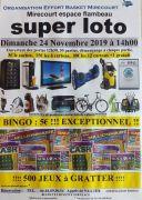 Super Loto à Mirecourt 88500 Mirecourt du 24-11-2019 à 12:30 au 24-11-2019 à 18:30