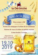 Fête de la Bière Gérardmer Brasserie La Gérômoise 88400 Gérardmer du 19-10-2018 à 12:00 au 19-10-2019 à 22:00