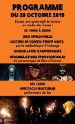 Halloween au Jardin des Traces à Uckange 57270 Uckange du 20-10-2019 à 14:00 au 20-10-2019 à 20:00