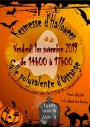 Kermesse d'Halloween Ottange 57840 Ottange du 01-11-2019 à 14:00 au 01-11-2019 à 17:00