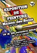 Exposition de Peintures à Yutz 57970 Yutz du 19-10-2019 à 14:00 au 20-10-2019 à 18:00