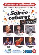 Soirée Cabaret à Ars-sur-Moselle 57130 Ars-sur-Moselle du 09-11-2019 à 20:00 au 09-11-2019 à 23:30