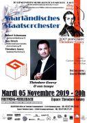 L'Orchestre national de la Sarre au Gouvy Freyming-Merlebach 57800 Freyming-Merlebach du 05-11-2019 à 20:00 au 05-11-2019 à 22:00