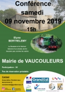 Conférence La Suzanne et le Varinot à Vaucouleurs 55140 Vaucouleurs du 09-11-2019 à 15:00 au 09-11-2019 à 18:00