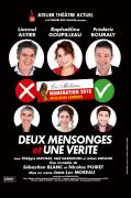 2 Mensonges et 1 Vérité Théâtre à L'Arsenal Toul 54200 Toul du 25-10-2019 à 20:00 au 25-10-2019 à 22:00