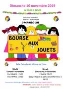 Bourse aux jouets à Étival-Clairefontaine 88480 Étival-Clairefontaine du 10-11-2019 à 09:00 au 10-11-2019 à 16:00