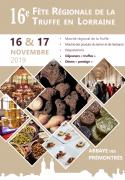 Fête Régionale de la Truffe à Pont-à-Mousson 54700 Pont-à-Mousson du 15-11-2019 à 20:00 au 17-11-2019 à 18:00