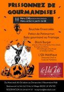 Menu Halloween Val Joli Le Valtin 88230 Le Valtin du 30-10-2019 à 11:00 au 03-11-2019 à 14:00