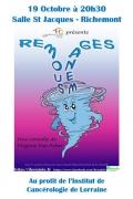 Théâtre Remous Ménages à Richemont 57270 Richemont du 19-10-2019 à 20:00 au 19-10-2019 à 22:30